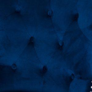 19351-a Navy Blue Velvet Upholstered Bar Stool