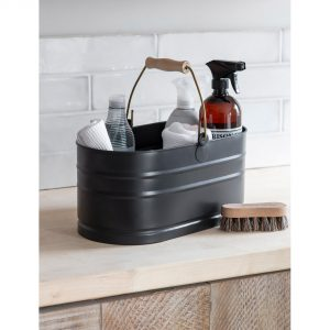 UBCN01_3 Dark Grey Metal Utility Bucket