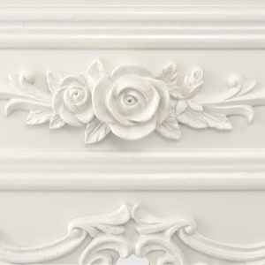 tgf-226-wh-det-01 Ornate Soft White Dressing Console Table