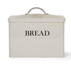 BBCL05_A Vintage Style Cream Bread Bin