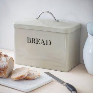 BBCL05_Vintage Style Cream Bread Bin