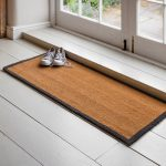 DMCO12_1 Contemporary Grey Border Coir Doormat