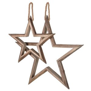 LCK518 Extra Large Hanging Star Decorations