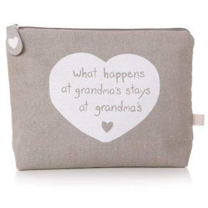 What Happens at Grandma's Cosmetics Bag