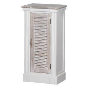 18881 Classic Grey White Wash Brown Cabinet