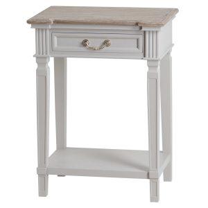 19640 Classic Elegant Grey Hall Table