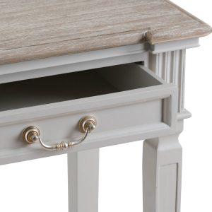 19640-a Classic Elegant Grey Hall Table