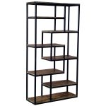 19987 Tall Industrial Style Shelf Unit