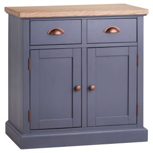 19993 Slate Grey Industrial Copper Sideboard