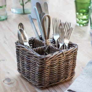 BECH01_Natural Kubu Rattan Cutlery Holder Basket