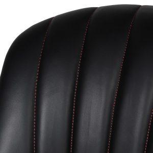mey431_3_Upholstered Black Leather Bar Stool