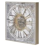 EGN080 Vintage Style Decorative Gears Wall Clock