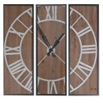 FBA051 Extra Large Panel Square Wall Clock