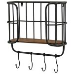 1499 Vintage Industrial Style Shelf Hooks