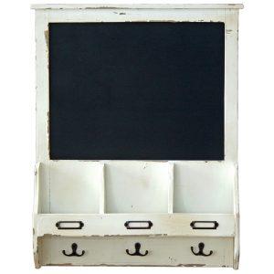 1596 Vintage Style White Chalk Board