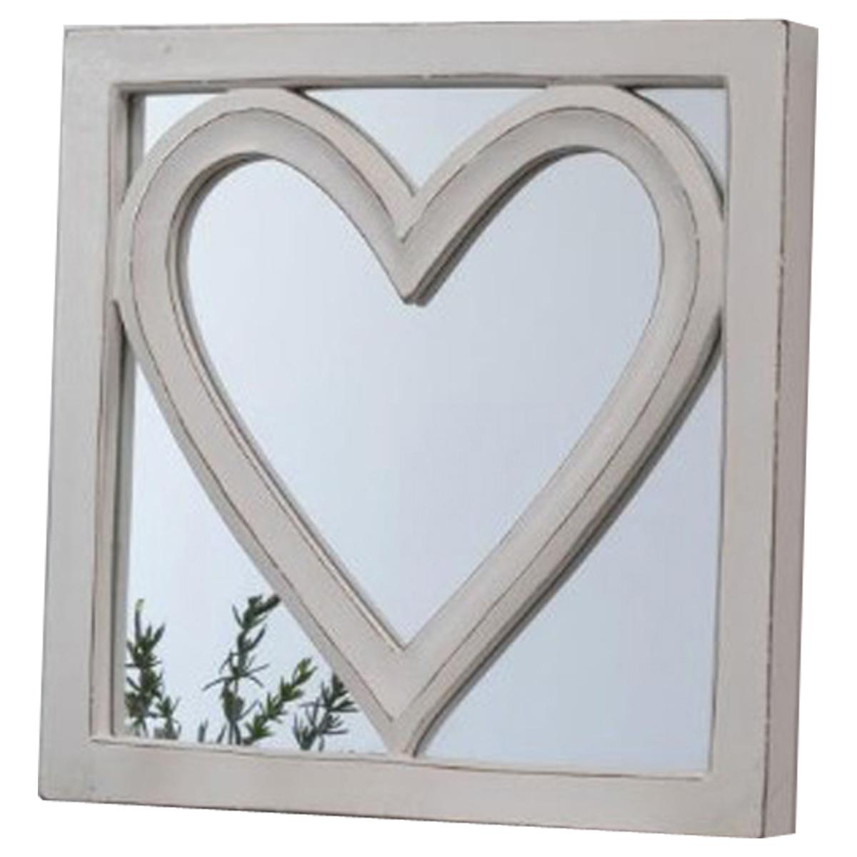 Hand Made Love Heart Wall Mirror Interior Flair