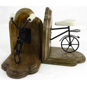 FA013-1 Vintage Style Bicycle Pair of Bookends