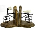 FA013 Vintage Style Bicycle Pair of Bookends