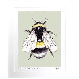 GP39 2 Busy Little Bee Fine Art Print