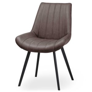 20046 Contemporary Grey Dining Seat Chair
