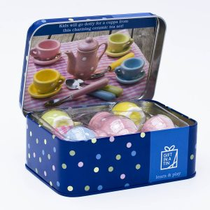 Children's Tea Party Gift in a Tin b