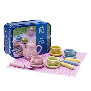 Children's Tea Party Gift in a Tin c