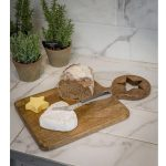 18SS68 Large Star Wooden Chopping Board