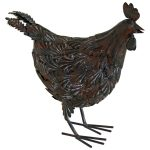3118 Large Country Chicken Hen Ornament