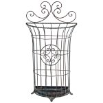 3235 Antique Grey Wire Umbrella Stand