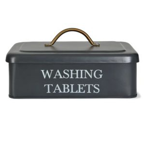 BOCN01 Grey Washing Powder Tablets Container