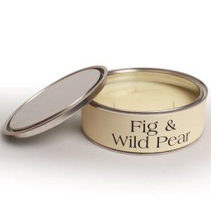 Fig & Wild Pear Triple Wicks CANDLE Tin