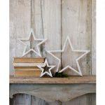 11SS53 Set of 3 Mantelpiece Stars