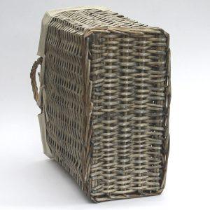 Country Willow Magazine Storage Basket b