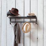 LRC001 Dark Grey Steel Wall Shelf