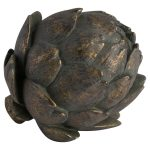 19839 Antique Bronze Artichoke Decoration