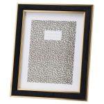 20850 Black Velvet Gold Metal 8 x 10 Frame