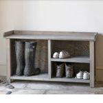 AWWB01 Natural Grey Shoe Storage Bench a