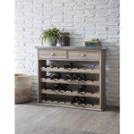 AWWS01 Aldsworth Grey 32 Bottle Wine Store