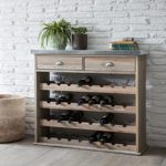 AWWS01 Rustic Grey 32 Bottle Wine Store