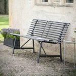 BECN02 Classic Dark Grey Garden Bench a