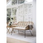 BERA03 a Bamboo Style Hampstead Garden Bench