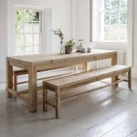 BVPI01 Large Brookville Dining Table & Benches