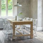 BVPI03 Large Rustic Pine Dining Table