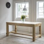 BVPI04 Rustic Pine Dining Table a