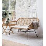 ERA03 Contemporary Bamboo Style Garden Bench a