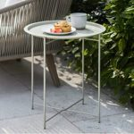 RDCL04 a Clay Cream Taupe Bistro Table