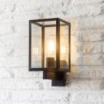 Black Outdoor Wall Carriage Light