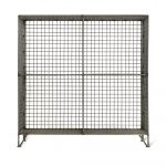 Charcoal Grey Wire Storage Shelf Unit
