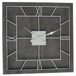 21648 Extra Large Grey Square Clock
